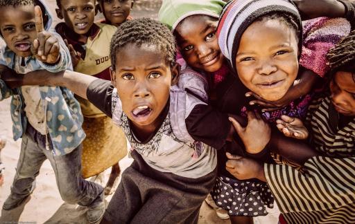 Children in Namibia, © Raimar von Wienskowski